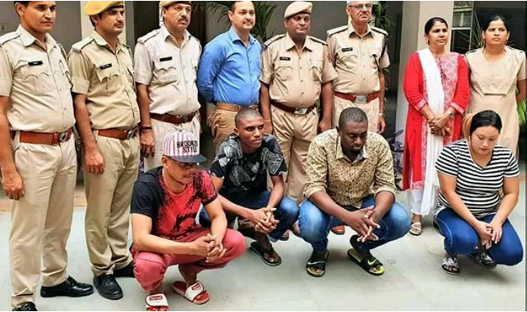 Three Nigerian men, one local woman arrested in India for duping a soldier