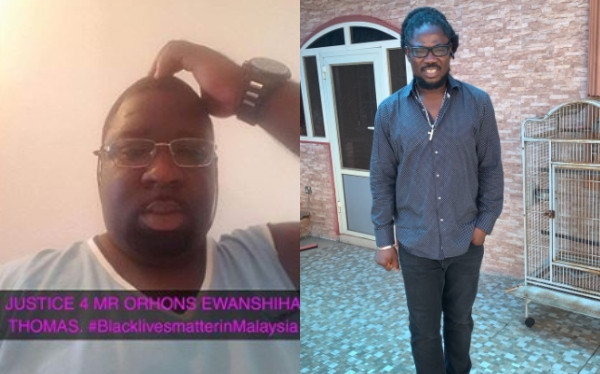 Nigerian PhD student allegedly killed in Malaysian immigration custody, Daddy Showkey reacts