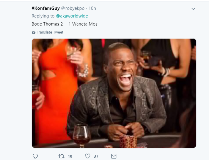 Nigerians troll rapper AKA on Twitter over Super Eagles