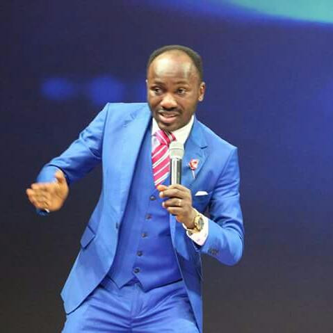 Apostle Suleman reacts to new Nigerian passport with 'herdsmen photo in it'