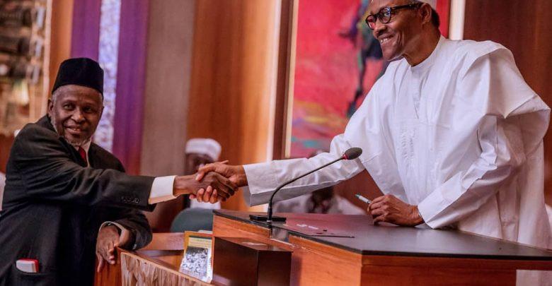 President Buhari writes Senate, seeks confirmation of Tanko Muhammed as substantive Chief Justice of Nigeria
