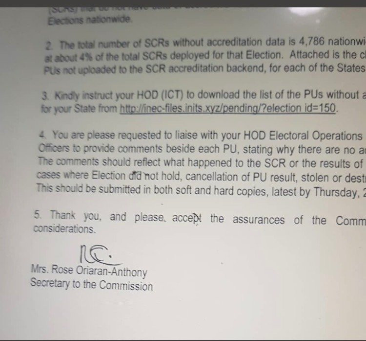 Reno Omokri releases alleged proof INEC transmitted 2019 election results through servers