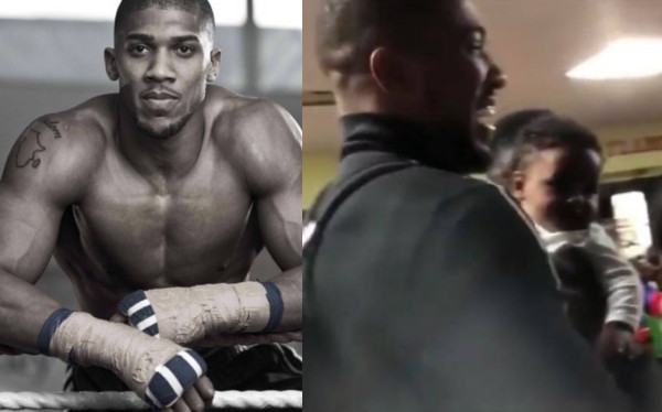 Anthony Joshua visits Nigeria  (video)