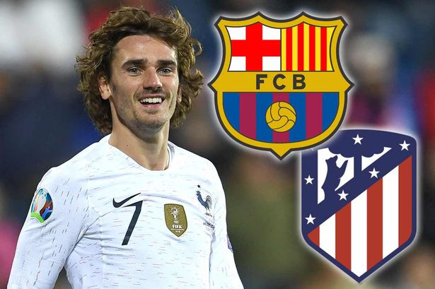 Barcelona confirm the signing of Antoine Griezmann from Atletico Madrid for ?120million