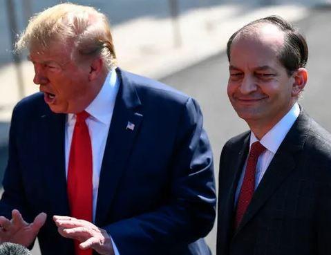 Breaking: Alex Acosta resigns as US labor secretary following plea deal scandal with wealthy financier, Jeffrey Epstein