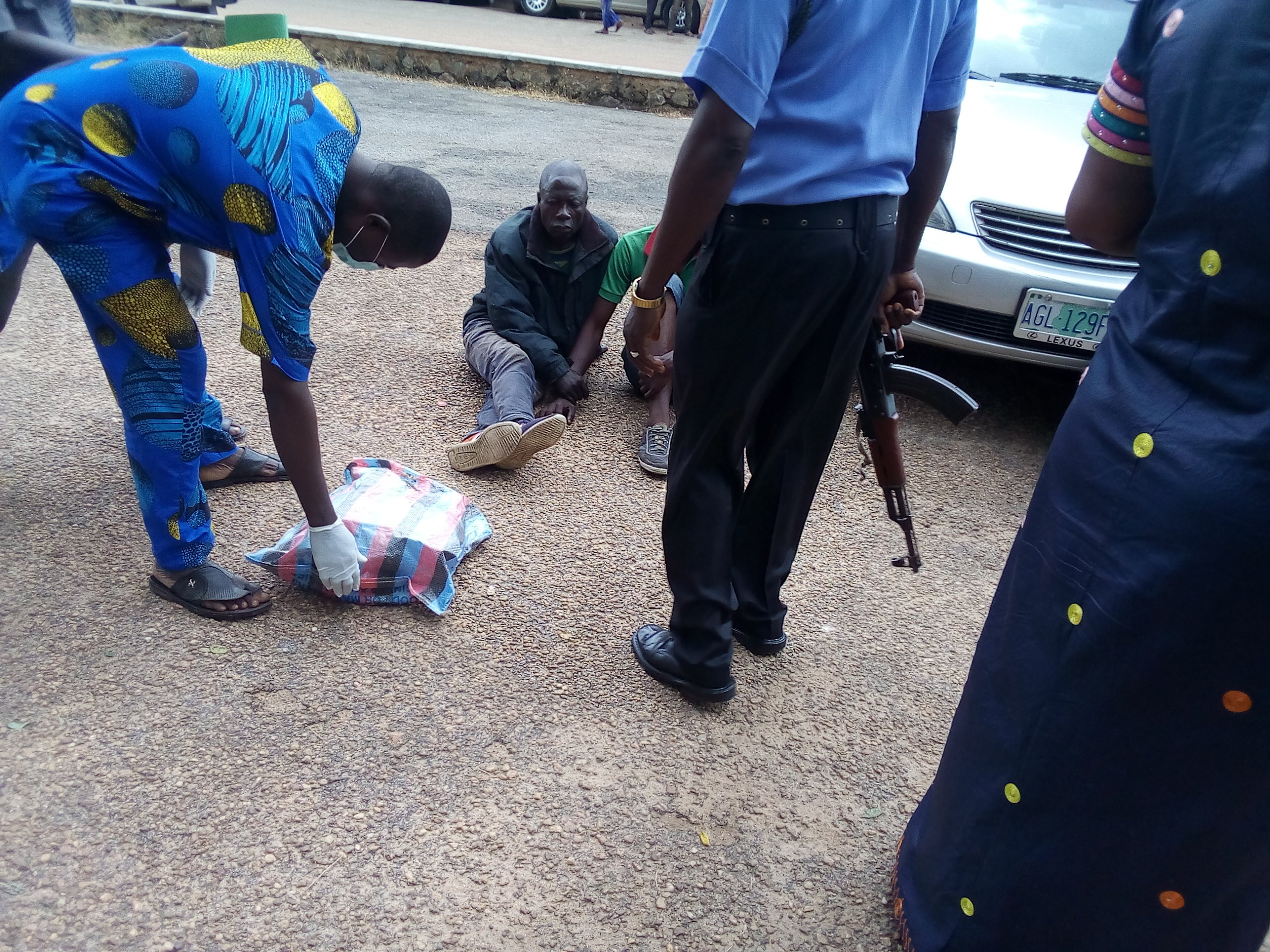 Police arrest two in possession of human skulls in Oyo