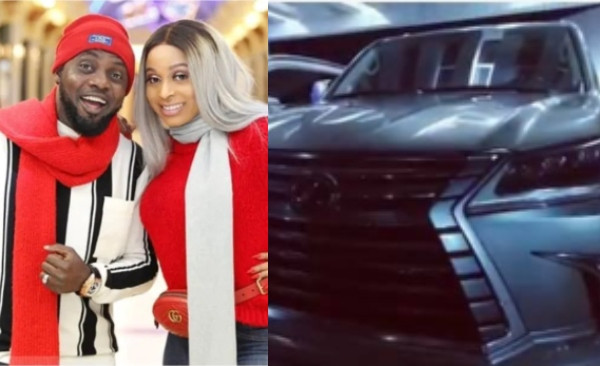 AY gifts himself and his wife, Mabel Makun brand new cars