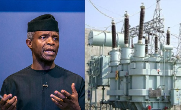 We have invested N900bn on power since assumption of office ? Osinbajo