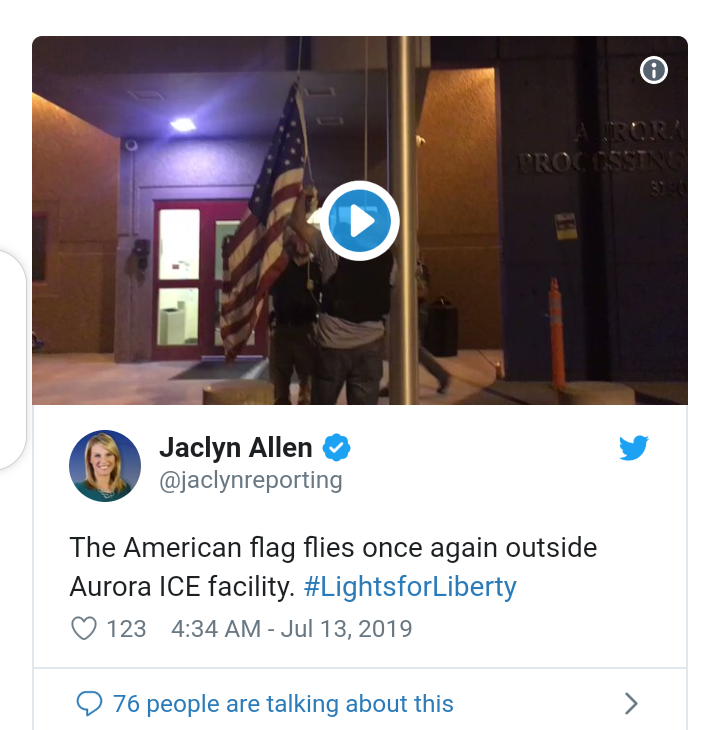 Protesters pull down US flags from detention centers holding illegal immigrants, put up Mexico flags and vandalize