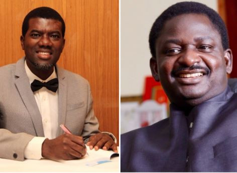Dear Femi Adesina fear God, not General Buhari - Reno Omokri tackles Femi Adesina over claims by presidency that robbers killed Fasoranti?s daughter