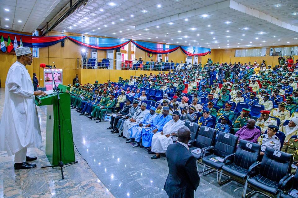 Nigeria is winning war against terror- President Buhari