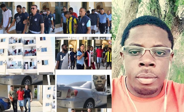 Police arrest 11 friends for killing Nigerian student over debt and dumping his body in car