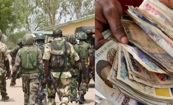 Nigerian soldiers escorting VIP steal ?billions?, desert the Nigerian army
