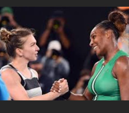 """""""She was the best player at this year's Wimbledon"""" - Serena Williams congratulates Simona after she beat her to win first Wimbledon title"""