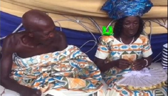80-year-old man finally marries 78-year-old partner after 25 years (video)