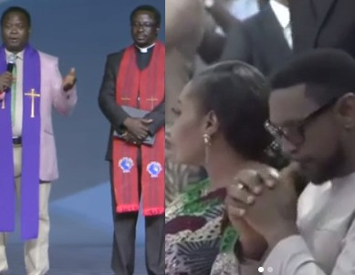 Rape allegations: Christian Association of Nigeria leaders visit COZA, pledge support for Pastor Biodun Fatoyinbo (video)
