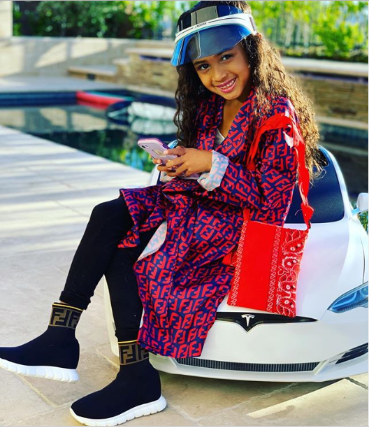 Chris Brown's daughter Royalty looks flawless in new photo