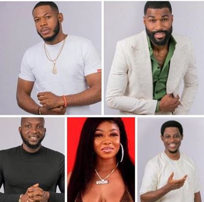 #BBNaija: Seyi, Frodd, Mike, Tacha and Tuoyo up for possible eviction this week