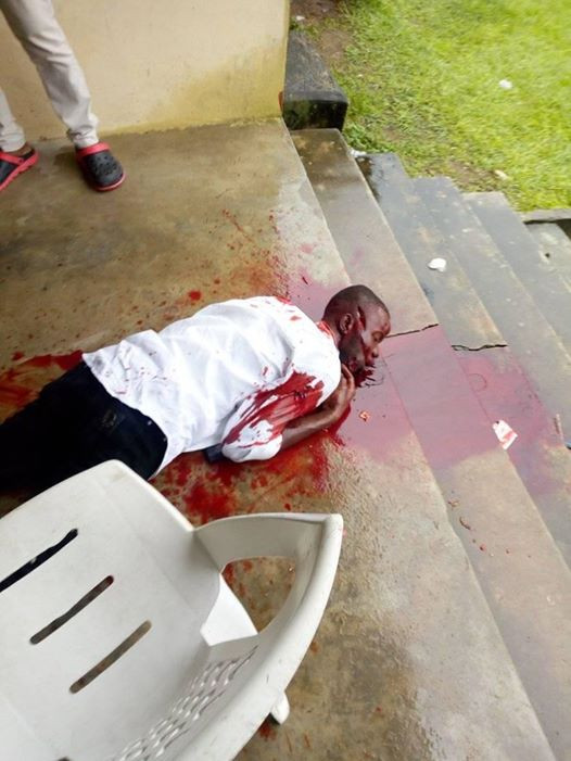 Update: CRUTECH final year student shot to death identified as James Chia (photos)