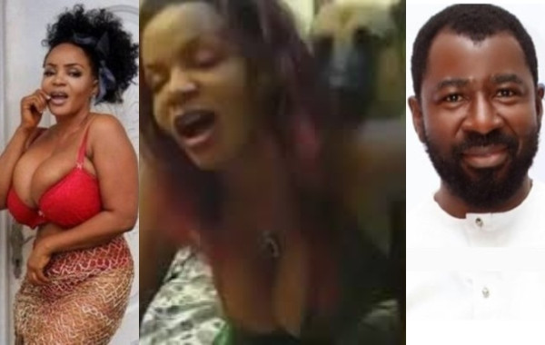 Cossy Ojiakor fires back at Tunde Moshood after he shared video of her allegedly having sex with a dog (video)