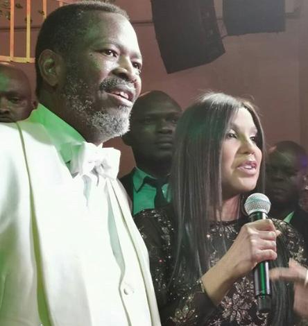 Toni Braxton in Lagos for Prince Nduka Obaigbena