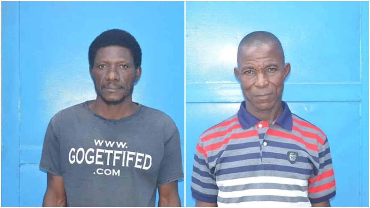 Two men arrested for raping, impregnating four schoolgirls in Abuja