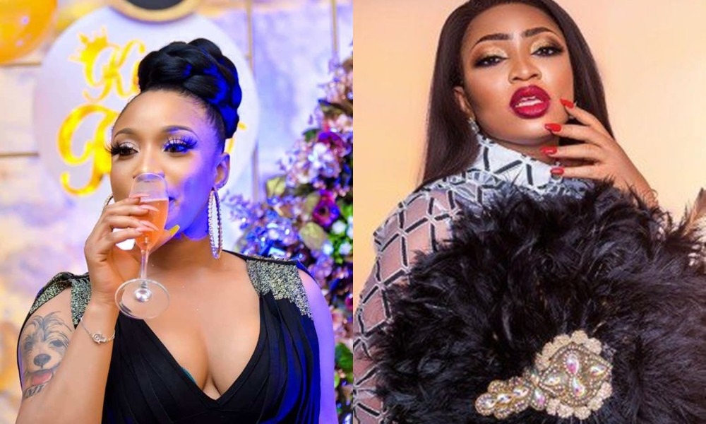 Tonto Dikeh laughs off being given