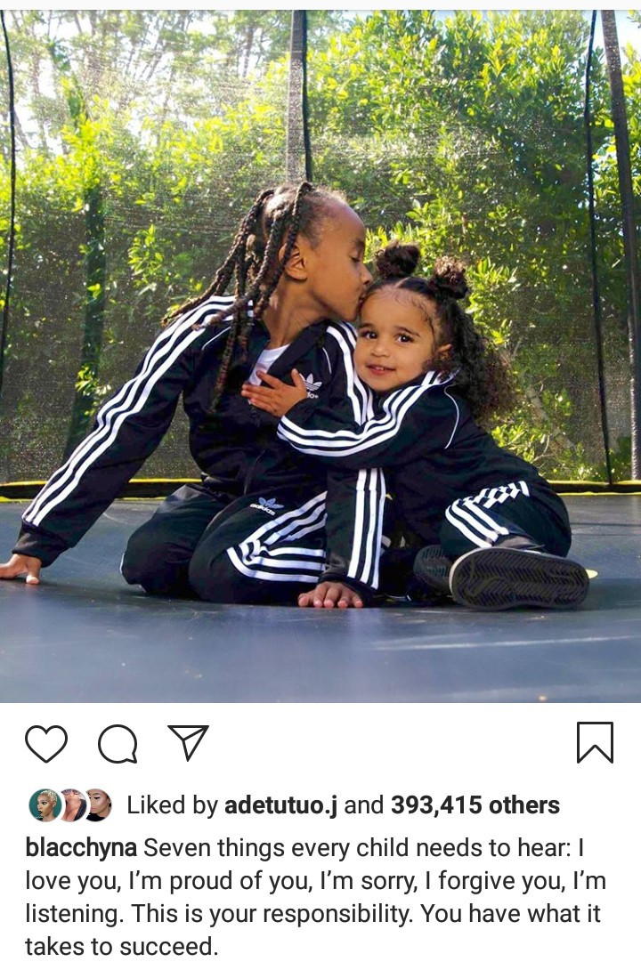 Blac Chyna gives parenting advice as she shares new photos of herself and her kids