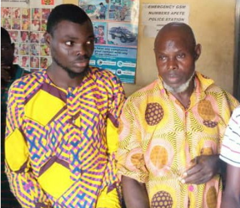 Photo: 19 year old rescued from kidnappers den in Lagos