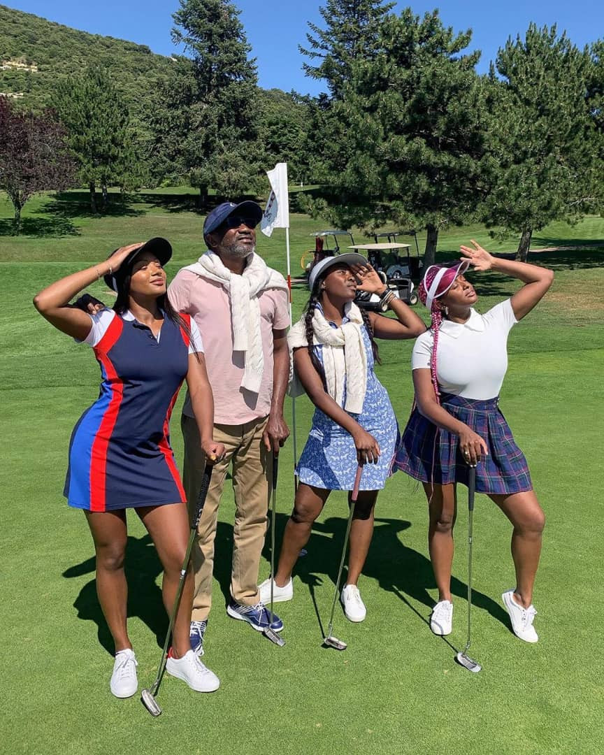 Photos: Billioanaire Femi Otedola and daughters vacation in Monaco