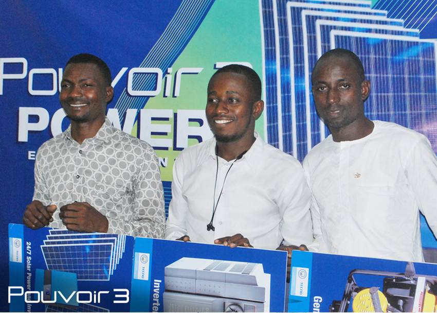 First, Second And Third Prize Winners Get Rewarded In The Tecno Pouvoir 3 Power Extravaganza Promo