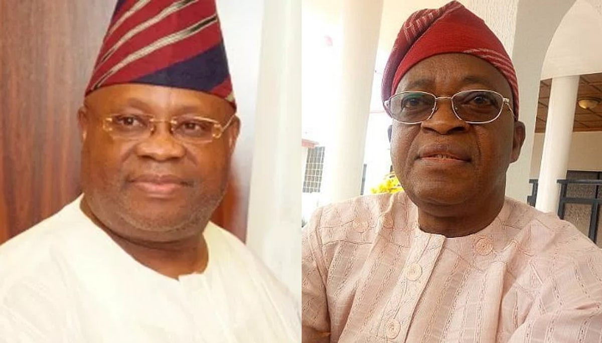 Dancing is better than looting treasury - Adeleke replies Governor Oyetola