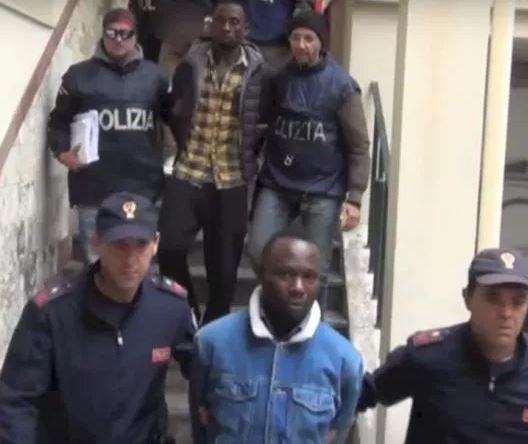 Italian police arrest 19 suspected members of a Nigerian mob in major crackdown