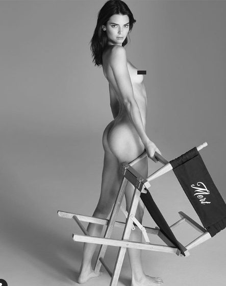 Kendall Jenner poses completely nude in new photos