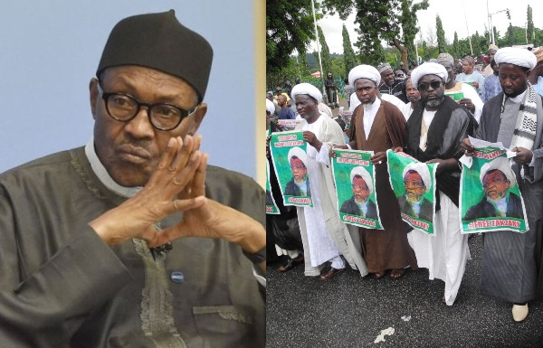 El-Zakzaky: Buhari issues strong warning to Shiites members over protest, tells them to await court judgement