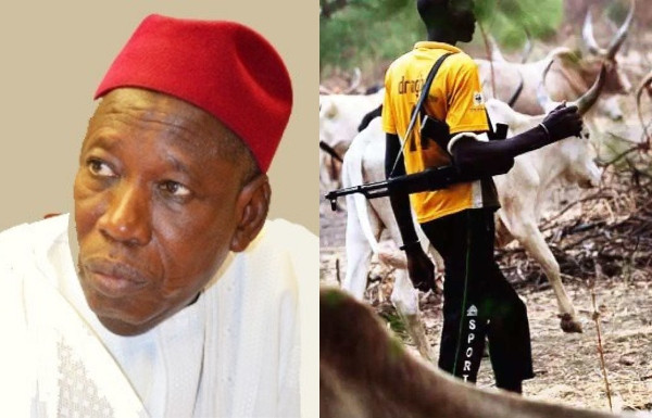 Abolish herdsmen movement from North to South - Ganduje to FG