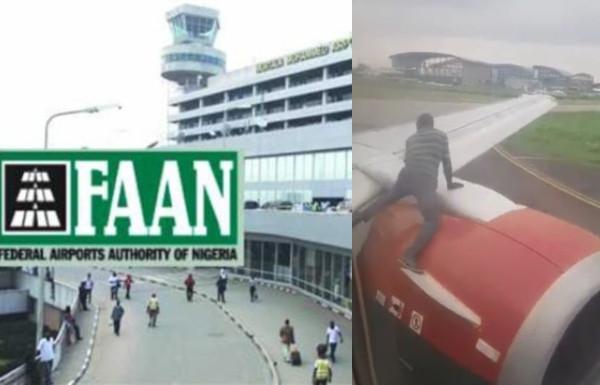 FAAN suspends Lagos airport security heads over arrested stowaway