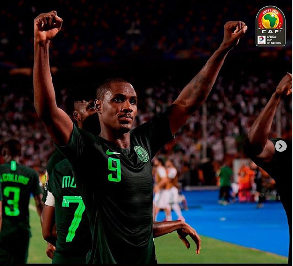 Odion Ighalo confirms his retirement from international football with Nigeria