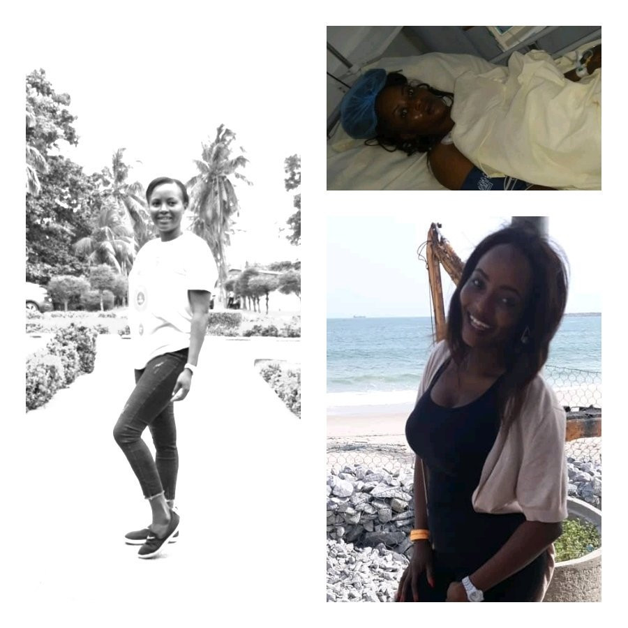 Lady narrates how she survived gunshot injury from a robbery attack in Lagos