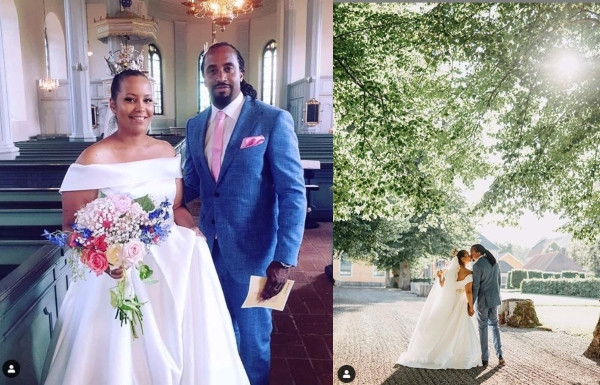 Ugandan rapper Navio weds girlfriend in Sweden (photos)