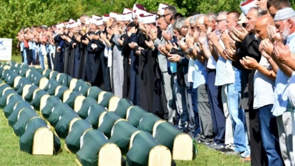 86 victims of Bosnian war buried 27 years after massacre