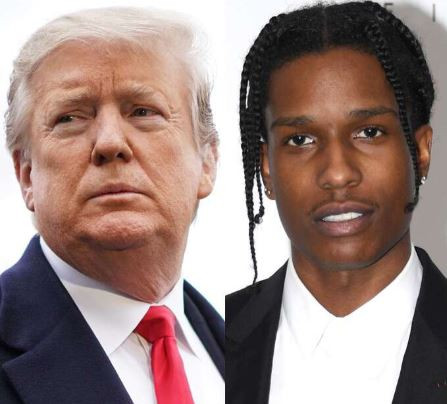 'I have offered to personally vouch for A$AP Rocky's bail' - President Trump