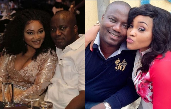 Lanre Gentry says Mercy Aigbe is back in his house, she reacts
