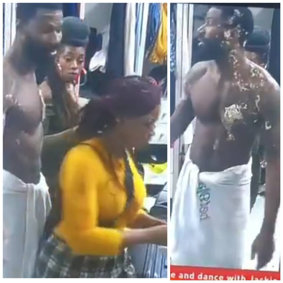 BBNaija: Uti Nwachukwu, Juliet Ibrahim, Lilian Afegbai react to video of Tacha hurling insults and pushing Mike
