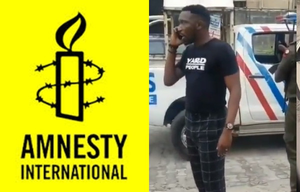 Rape: Amnesty International calls out Nigerian Police for invading Timi Dakolo