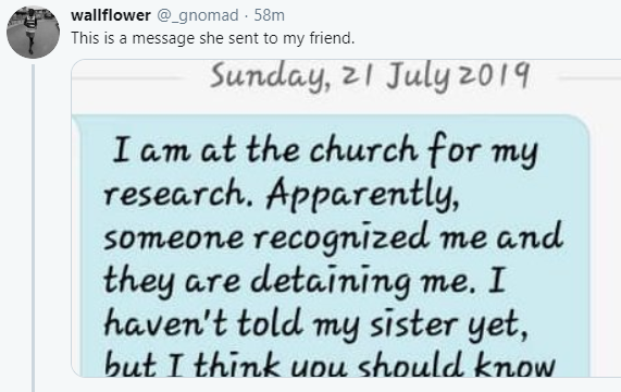 Punch reporter allegedly held hostage in COZA