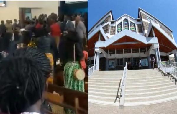 Pastor beaten in church by members lindaikejisblog