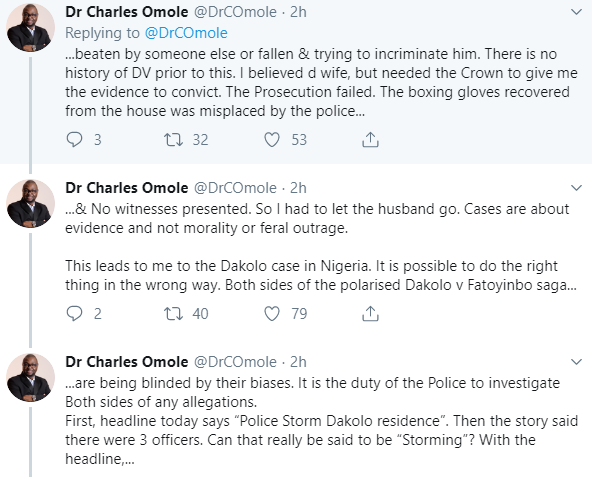 Rape:  Biodun Fatoyinbo will not be convicted because Busola Dakolo has no evidence against him- Nigerian judge Charles Omole predicts