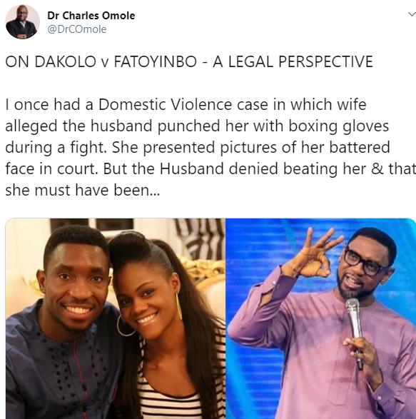 Rape: Biodun Fatoyinbo will not be convicted because Busola Dakolo has no evidence against him- Nigerian judge Charles Omole predicts