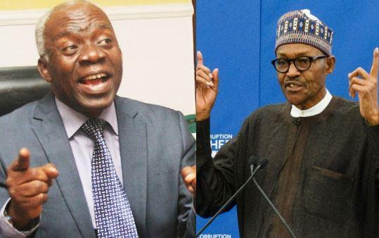 Nigeria is heading towards anarchy if insecurity is not fixed - Femi?Falana warns President Buhari